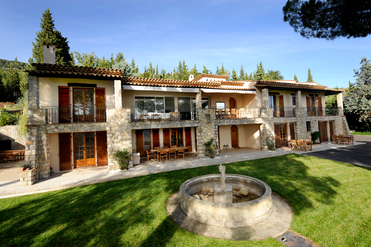 Mas du Vallon villa for rent France