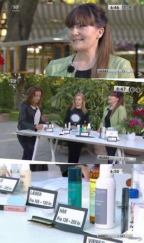 JBR Agencies TV2 Anette Kristine Poulsen Beautyspace presse