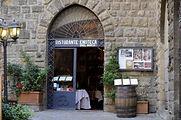 Dining in Tuscany, Italy