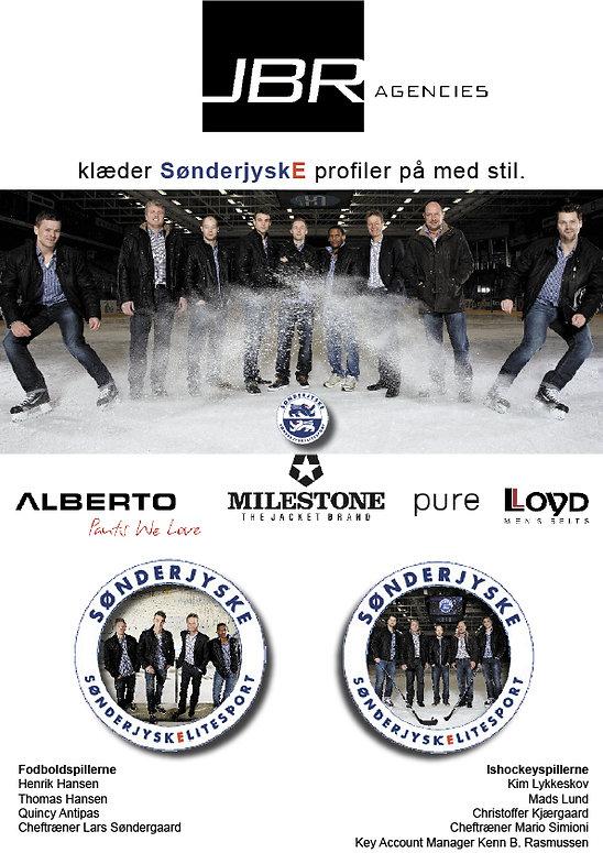 JBR Agencies SønderjyskE Elitesport sponsorat