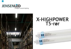JensenLED X-Highpower T5-rør 35W >6000lm