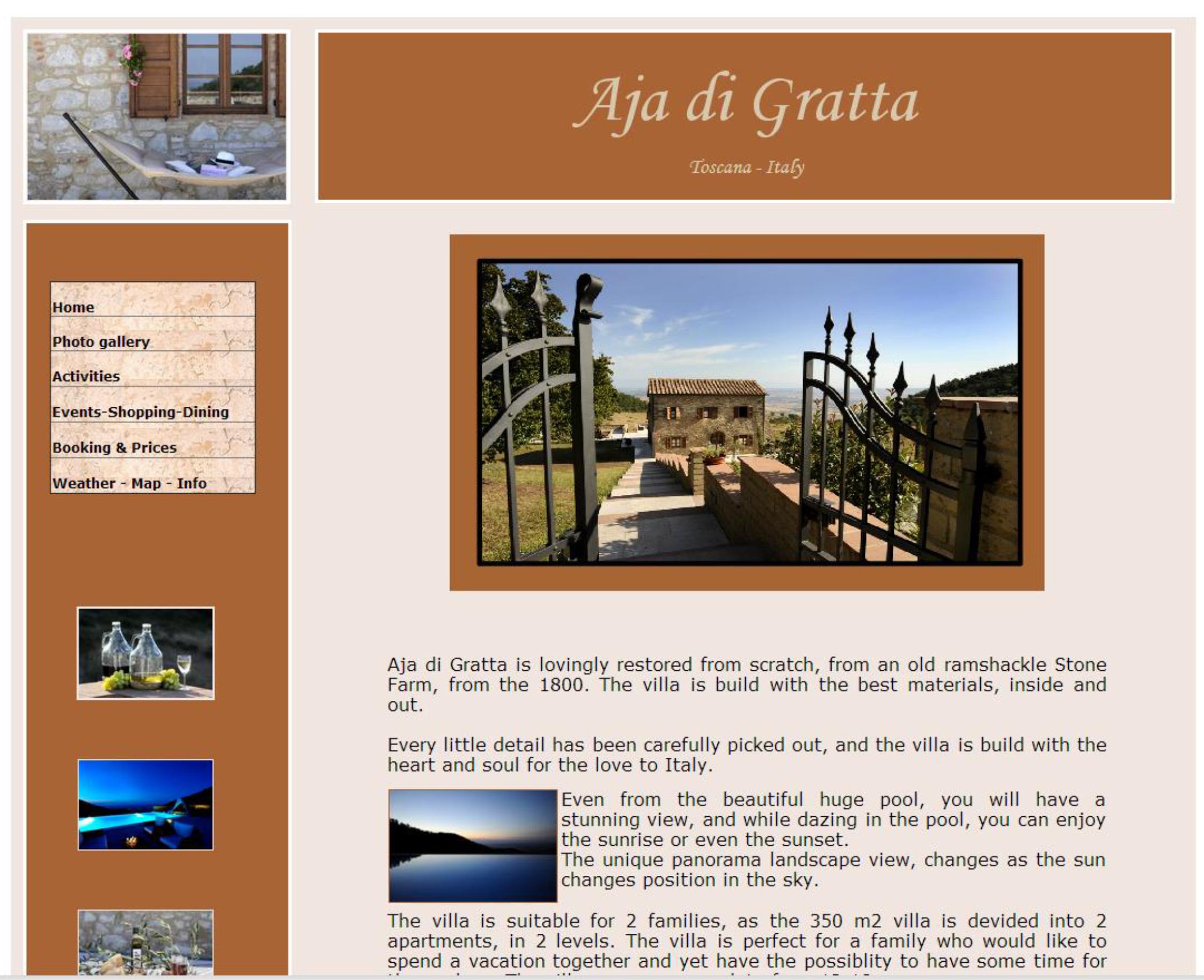 Aja di Gratta - lejebolig Italien
