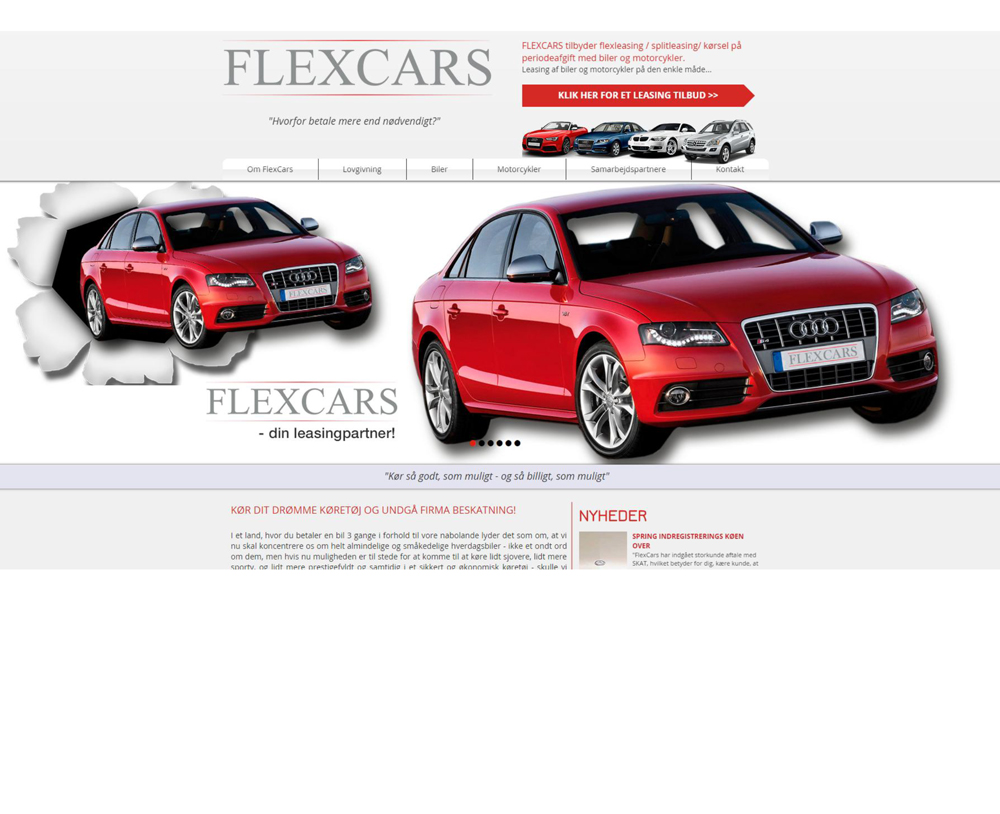 Flexcars - din leasingpartner!