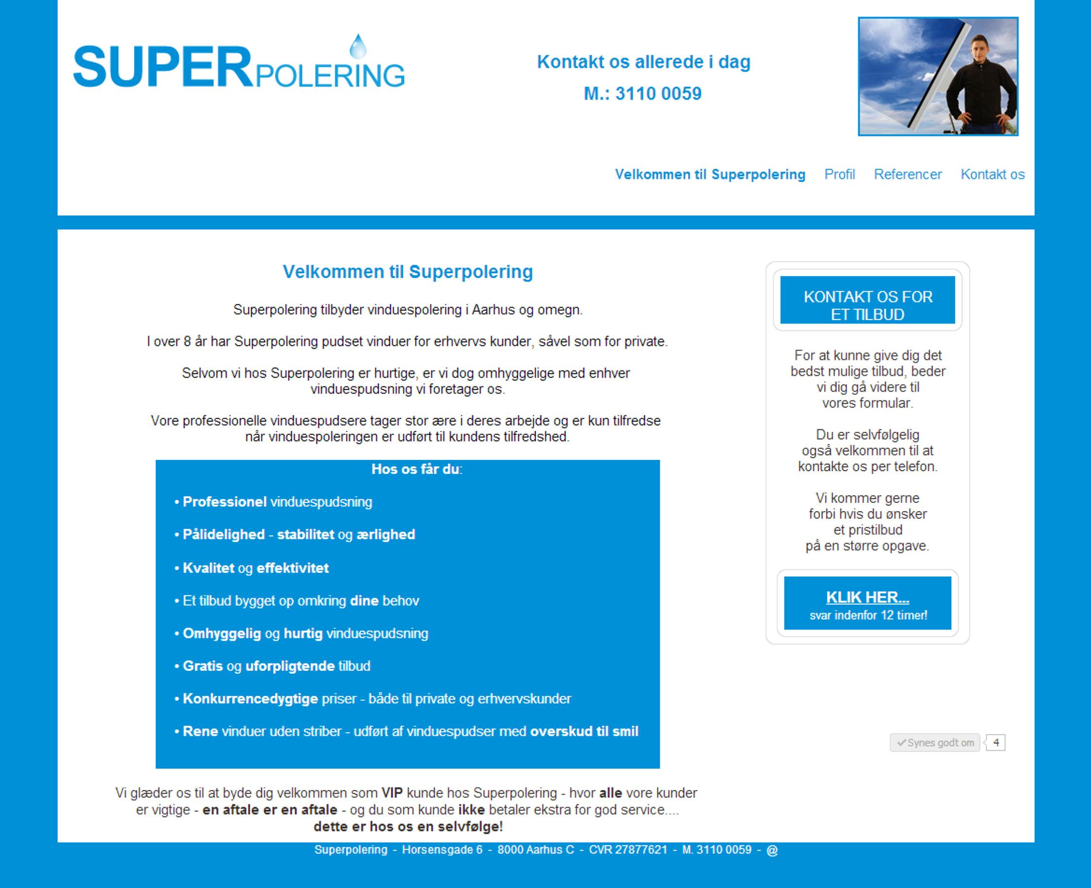 Superpolering