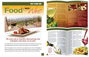 Food and Wine Magazine Article