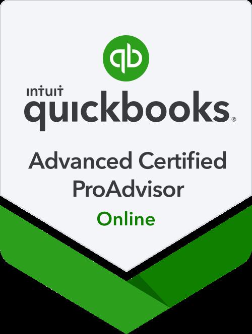 quickbooks proadvisor badge, advanced certification