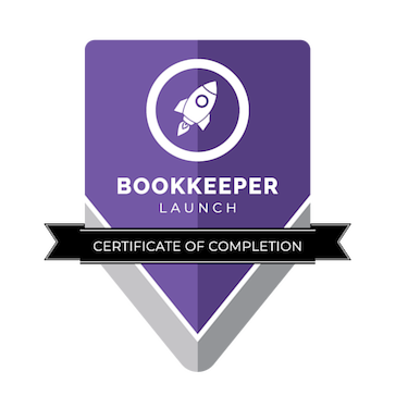 Bookeeper Launch Certificate