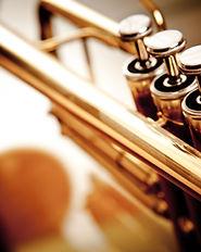 Trompete Nahaufnahme