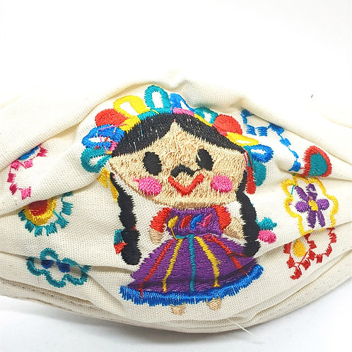Child - Artisan Embroidered Face Mask