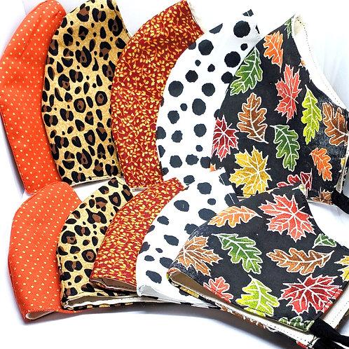 Fall Fabrics - Facemasks