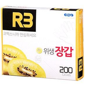 [코멕스] R3 위생장갑 200매