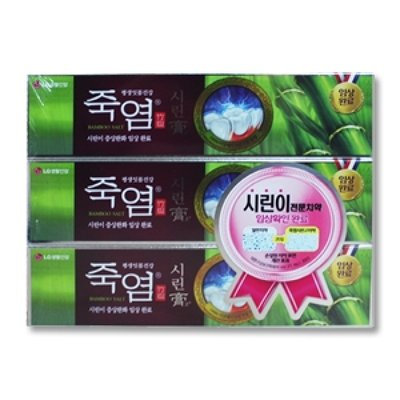 [죽염] 시린고 치약 1팩 (120g*4개)
