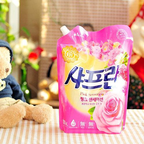 [샤프란] 섬유유연제 핑크 센세이션 리필 2000ml