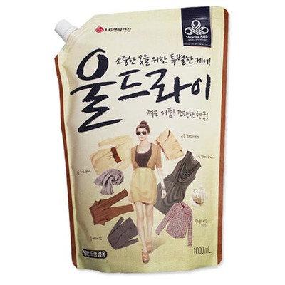 [테크] 울드라이 섬유세제 리필 1000ml