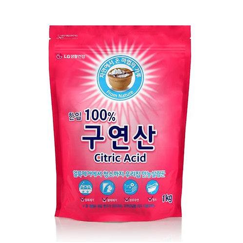 [한입세제] 한입 100% 구연산 지퍼백 1kg