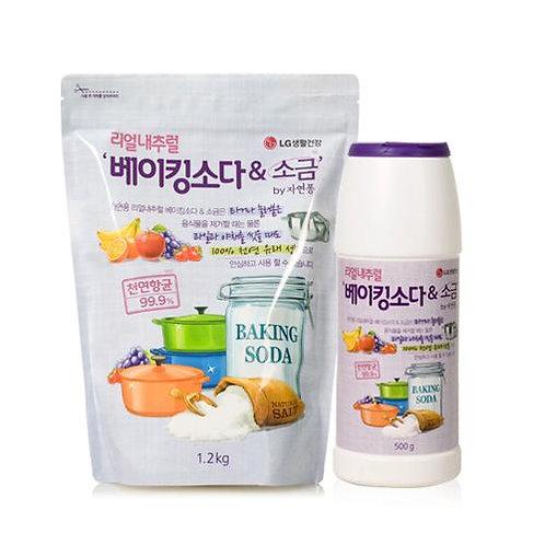 [자연퐁] 항균 베이킹소다와 소금 주방세제 용기 500g