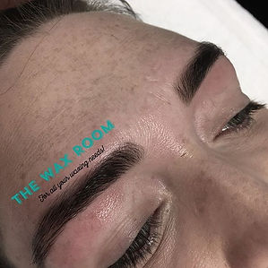Brow tint I did today! Brows lookin bomb