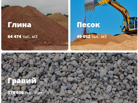 Инвестиции в месторождения нерудных материалов Смоленской области