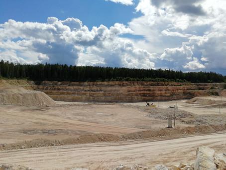 Процесс освоения месторождения общераспространенных полезных ископаемых
