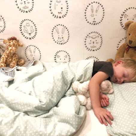 HOW TO // Designing your child's bedroom for a better night's sleep.