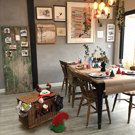 HOW TO // Decorate the Christmas table for your family