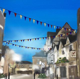 illustration of Warwick, England