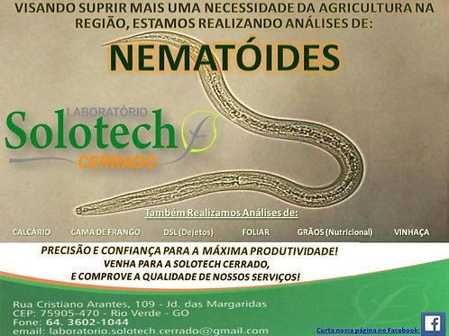 ANALISE MICROBIOLÓGICA DE NEMATÓIDE(Solo e Raízes)