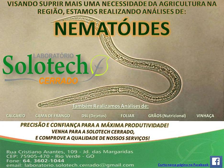 Solotech Cerrado nematóides