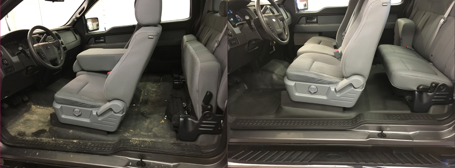Interior Detail on Ford F-150