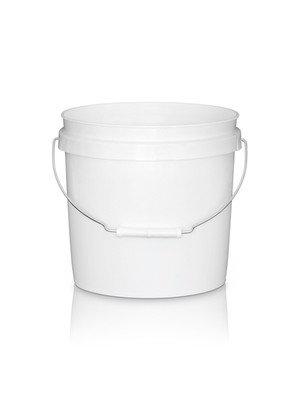3.5 Gallon White HDPE Pail