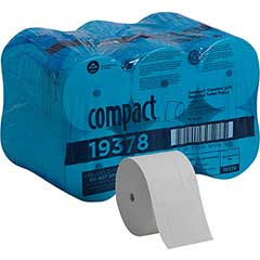 1 Roll of Professional Coreless 2-Ply Toilet Paper 1500 Sheets Per Roll