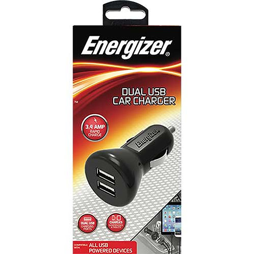 Energizer® Dual USB Car Charger