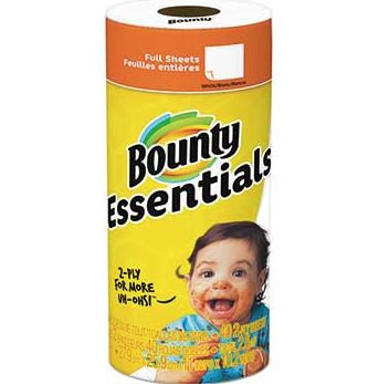 Bounty® Basic Paper Towels (2 Rolls)