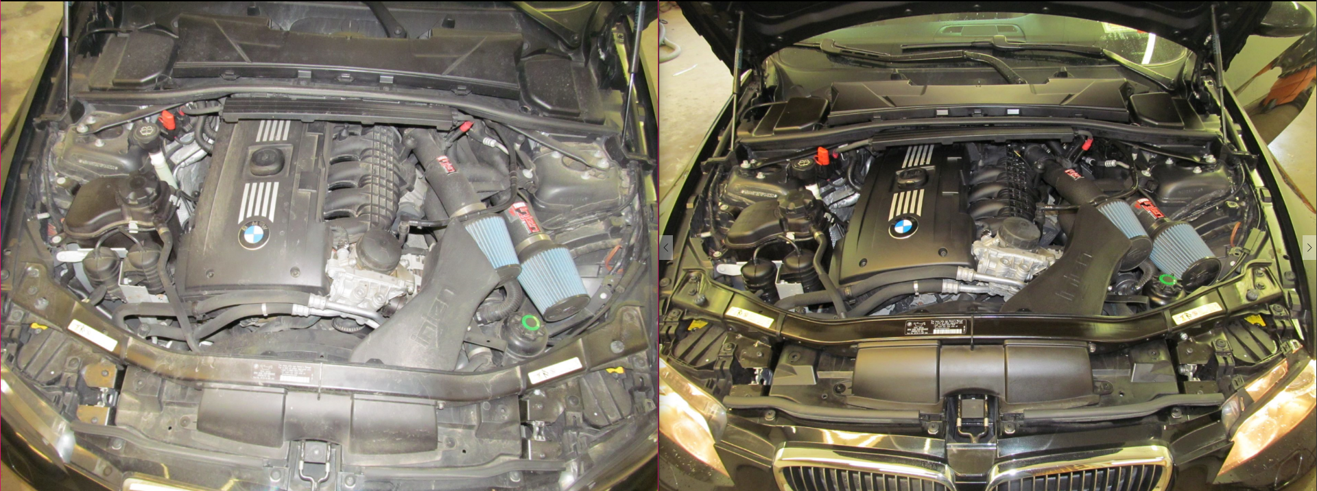 09 BMW 335i Engine