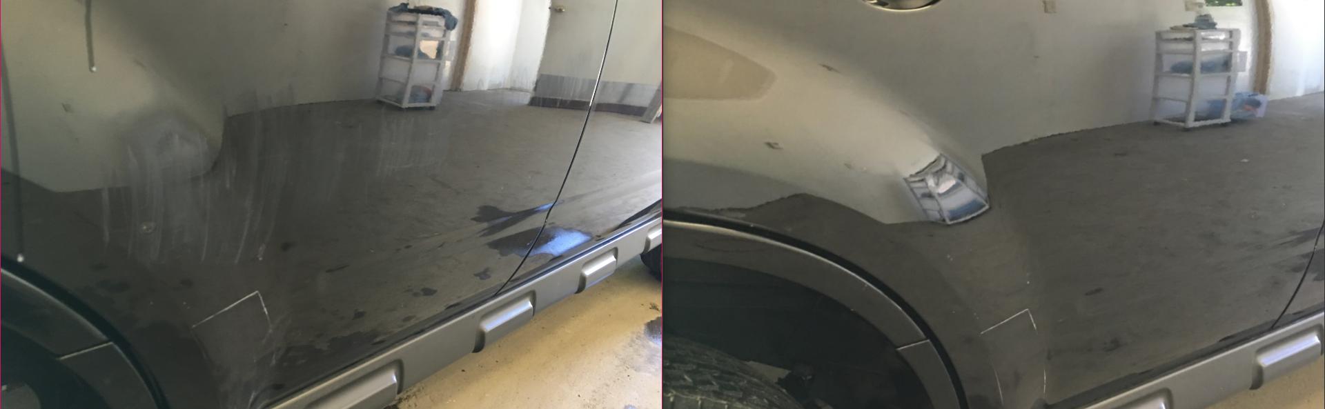 Ford Escape Scratch Removal