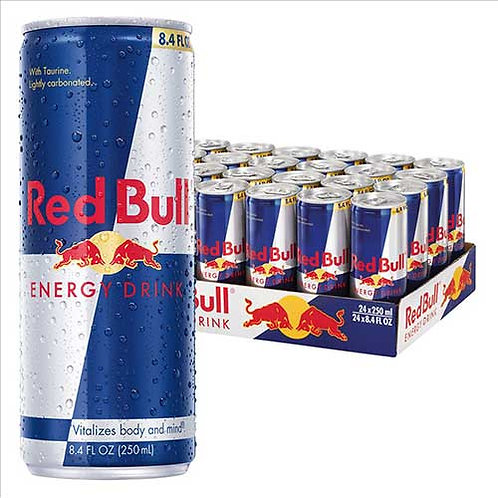 Red Bull® Energy Drink, 8.4 oz. cans, 24/CS