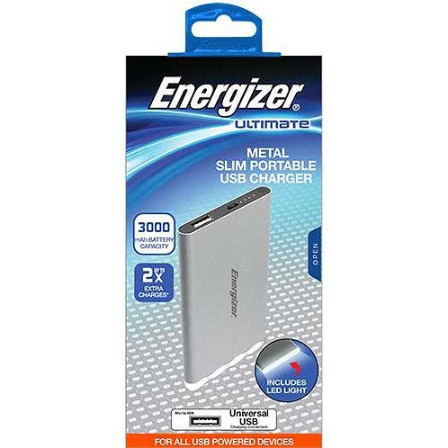 Energizer® Slim Portable USB Charger, 3000mAh