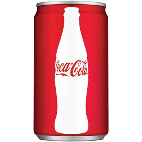 Coca-Cola® Mini Cans, Soda, 7.5 oz., 24/CT