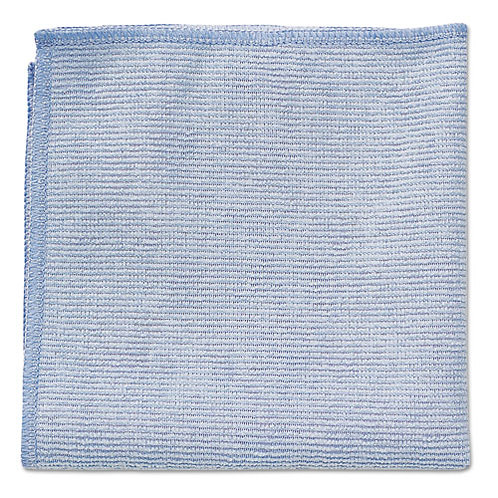 Pack of 10 Premium Commercial Microfiber Cleaning Cloths, 12 x 12 (5 Per Pack)