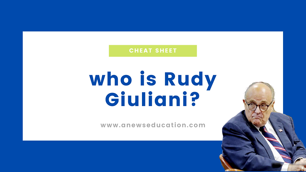 who is Rudy Giuliani?