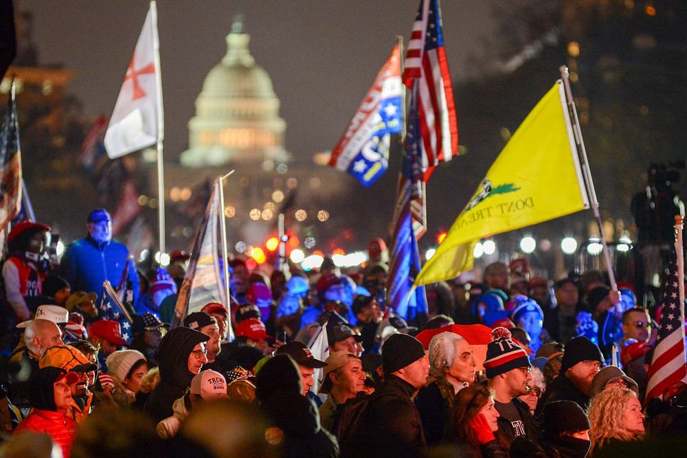 rally outside of the Capitol