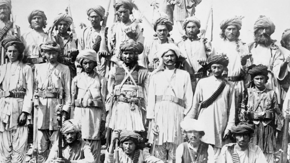 Indian soldiers in WW1