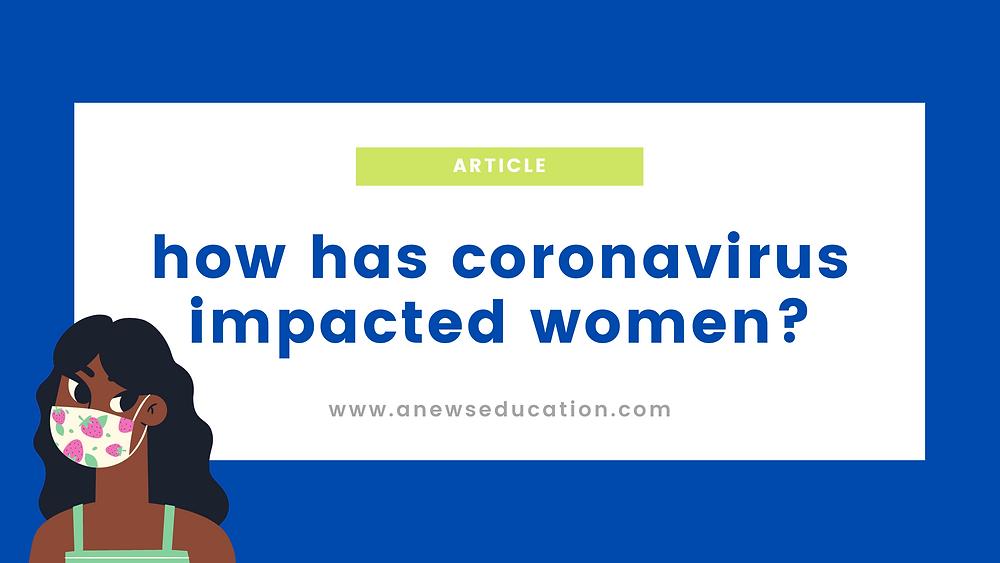 infographic: how has coronavirus impacted women?