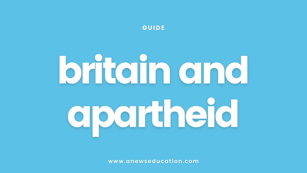 britain and apartheid