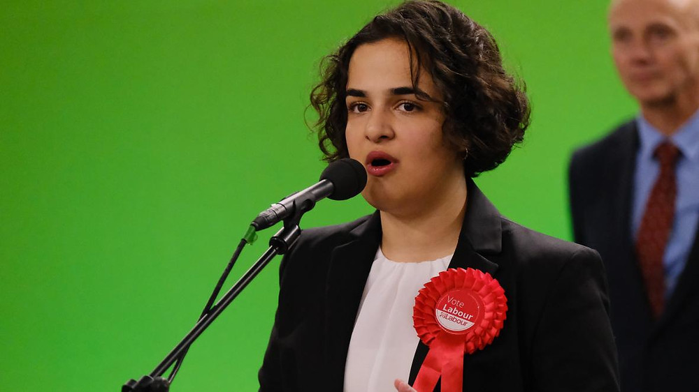 Nadia Whittome, Labour MP for Nottingham East