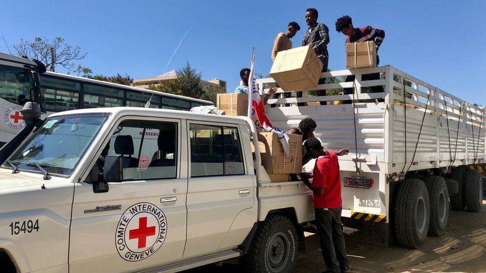 Humanitarian aid in Tigray
