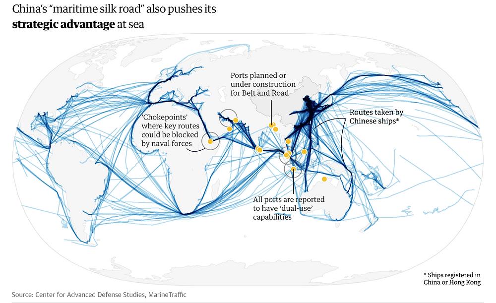 China's maritime silk road