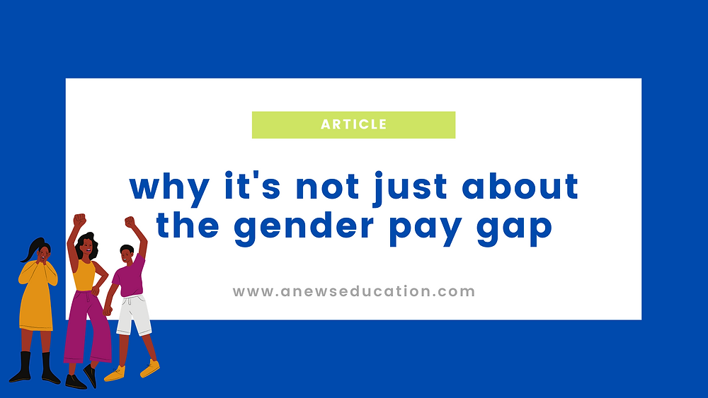 graphic- the gender pay gap