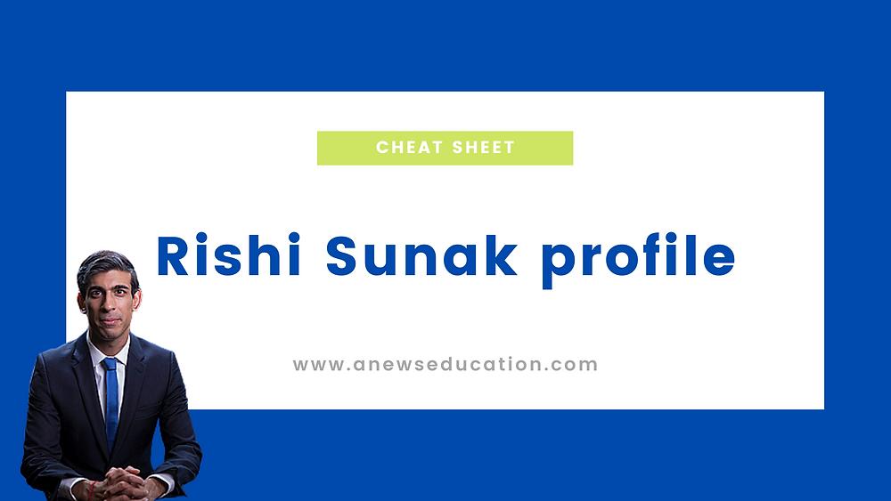 Rishi Sunak profile