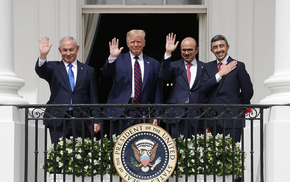 the signing of the abraham accords at the white house
